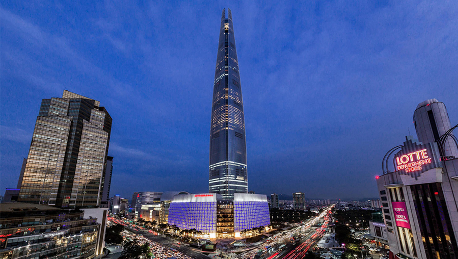 LOTTE WORLD TOWER AVENUEL - JAMSIL, SEOUL