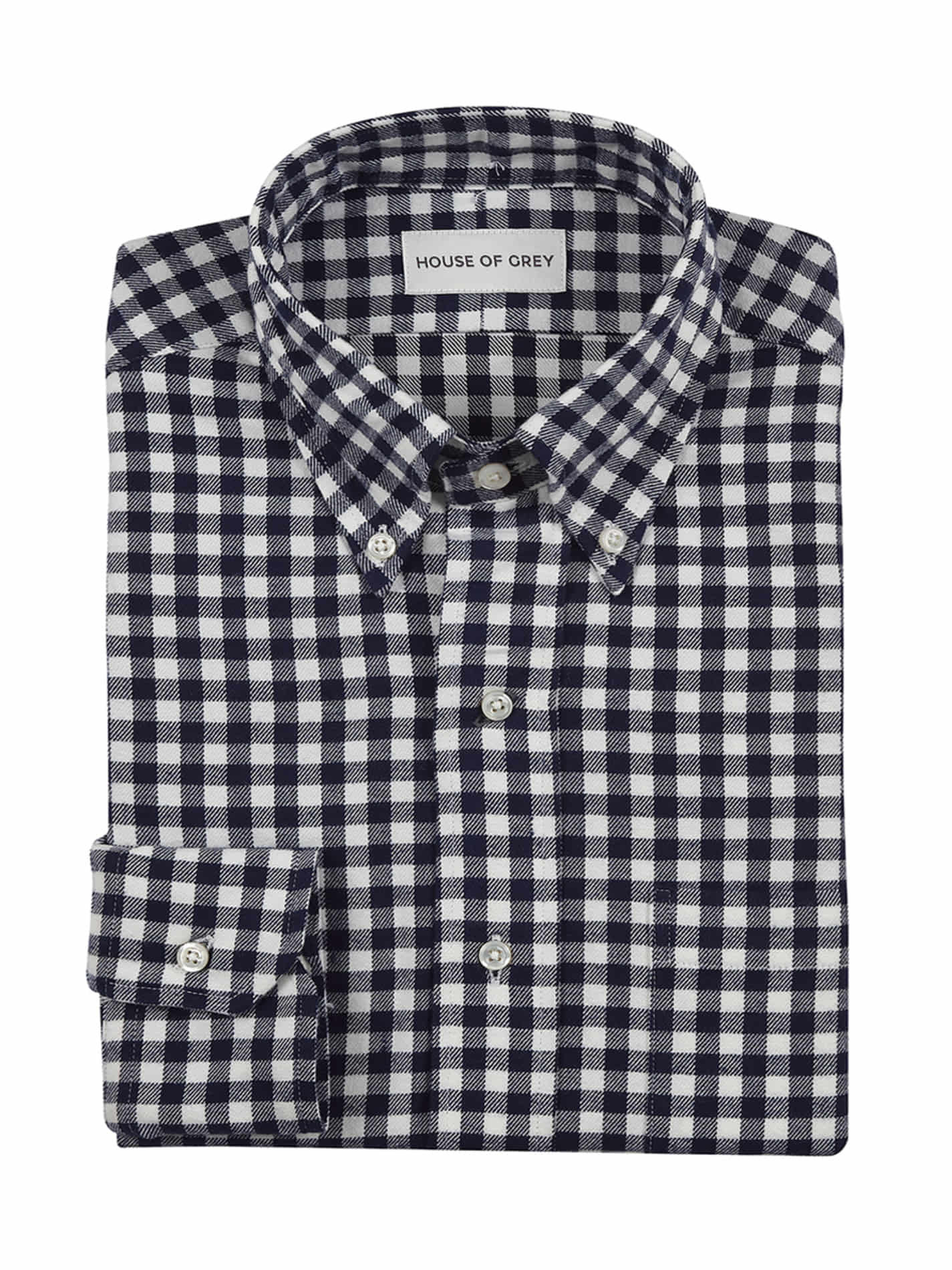 [30% SALE] FLANNEL NAVY GINGHAM